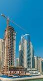 Construction site in Dubai Stock Photography