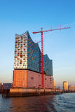 Construction site of the Elbphilharmonie in Hamburg, Germany Royalty Free Stock Images