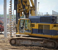 Construction site equipment Royalty Free Stock Photography