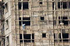 Construction site in Ethiopia Stock Images