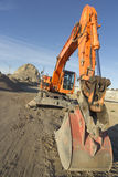 Construction Site Excavator Royalty Free Stock Images