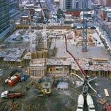 Construction Site, Gatineau Quebec stock photo