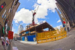 Construction site in Ground Zero, Stock Image