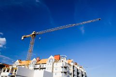 Construction site growth Royalty Free Stock Image