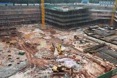 Construction site in guangzhou,china Stock Image