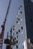 Construction site in Hamburg Stock Photos