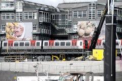 Construction Site Hamburg Royalty Free Stock Photo
