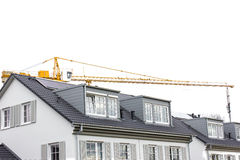Construction Site for Homes Stock Image