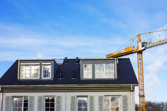 Construction Site for Homes Stock Images
