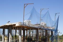 Construction site of a house Stock Photos