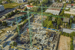 Free Construction Site In Bucharest, Romania Stock Image - 68018871