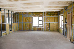 Construction Site - Inside View Royalty Free Stock Photography