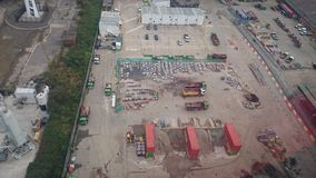 Construction site in London Stock Images