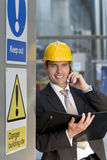 Construction Site Manager Royalty Free Stock Photos