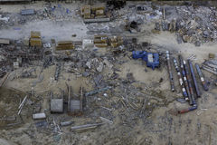 Construction site mess Stock Photography
