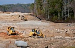 Construction site in metro Atlanta Georgia Royalty Free Stock Photography