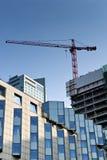 Construction site of modern building Stock Photos
