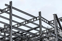Construction site of modern building Stock Image