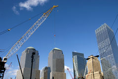 Construction site in New York Stock Image
