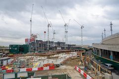 Free Construction Site Of Wembley Park Complex Royalty Free Stock Photo - 119991135