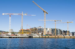 Construction site, Oslo Royalty Free Stock Photo