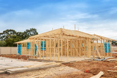 Construction site preparation Royalty Free Stock Photo