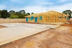 Construction site preparation Stock Images
