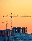 Construction site in progress Royalty Free Stock Photography