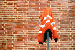 Construction site protection jacket Royalty Free Stock Photography