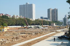 The construction site, in Shenzhen, China Stock Images