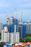 Construction site in Singapore Stock Photos