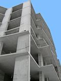 Construction site, skyscrapper building Royalty Free Stock Photo