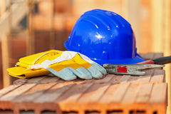 Construction site still life Royalty Free Stock Photos