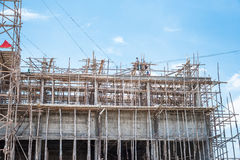 Construction site, Thailand Royalty Free Stock Images