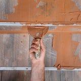 Construction site, tiles Stock Images