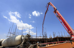 The construction site Royalty Free Stock Image