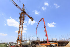 The construction site Stock Photos