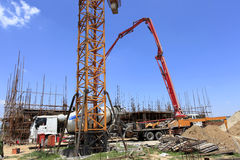 The construction site Royalty Free Stock Images