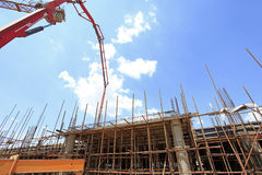 The construction site Stock Photography