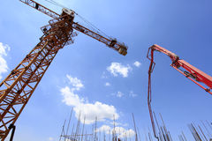 The construction site Stock Photo