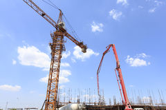The construction site Stock Images