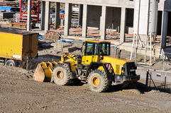 Construction site vehicle Stock Photography