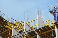 Construction site work Stock Images