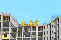 Construction site work Stock Photography