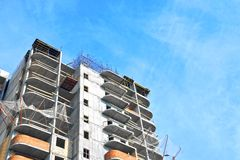 Construction site work Royalty Free Stock Image