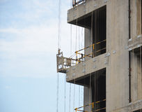 Construction Site in Xian, China Stock Photo
