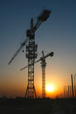 Construction sites Stock Images