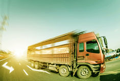 Construction sites and truck Stock Photography