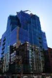 Construction of skyscraper Stock Photo
