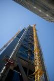 Construction of a Skyscraper Stock Image